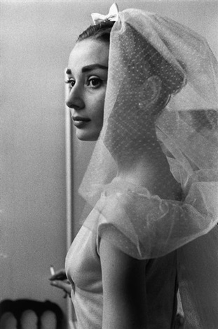 audrey hepburn by david chim seymour