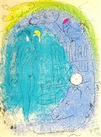 mother & child by marc chagall