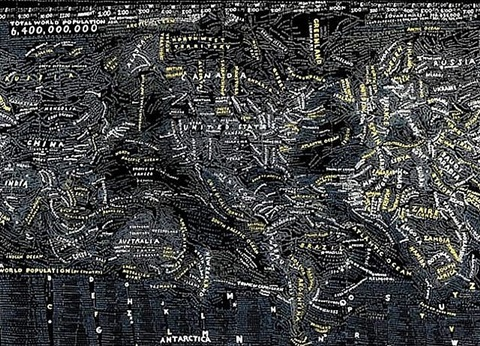 the dark world by paula scher