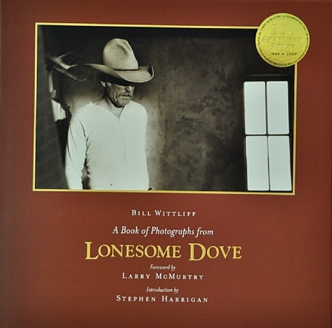 (book) a book of photographs from lonesome dove by bill wittliff