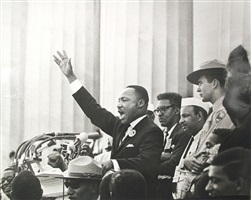 king ends his speech with the words of the old negro spiritual,