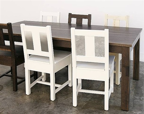 dining set by roy mcmakin