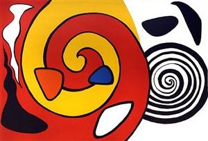 spirals & forms by alexander calder