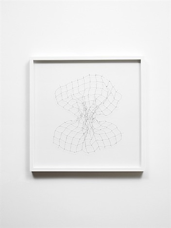 bullet drawing iii by cornelia parker