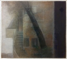 landscape with steps by ra'anan levy