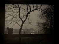 view of prague from kampa island by josef sudek