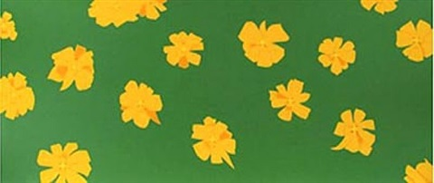 marigolds by alex katz