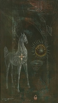 la jaca by leonora carrington