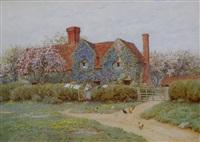 a bukinghamshire house at penstreet by helen allingham