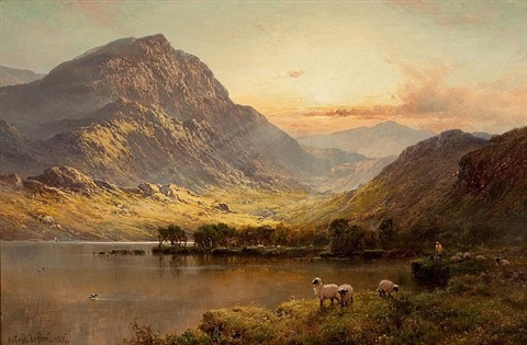 in north wales by alfred de breanski sr