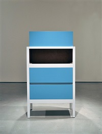 untitled (with one drawer that by roy mcmakin