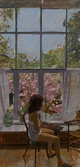 the artists model by ken howard