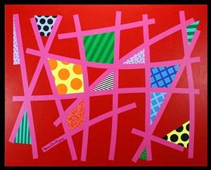 everglades red by romero britto