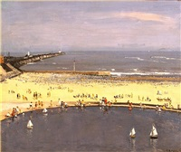 gorleston beach by campbell a. mellon