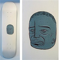 skateboard deck by barry mcghee