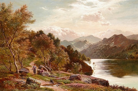 ullswater, cumberland by sidney richard percy