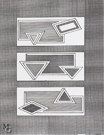 grid stack by frank stella