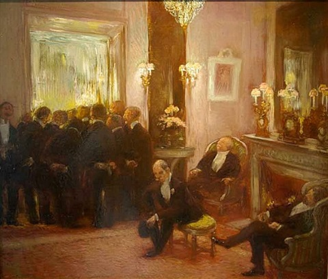 at the ball by gaston la touche