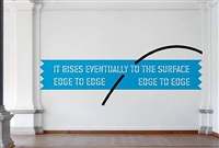 aphorism-archimedes by lawrence weiner