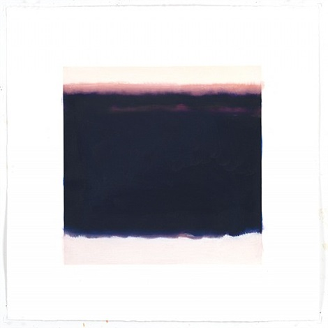 film edge (purple horizon, black water) by isca greenfield-sanders