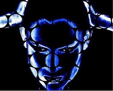 katharina sieverding blue note ii by katharina sieverding