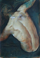 collaged back study by tomas watson