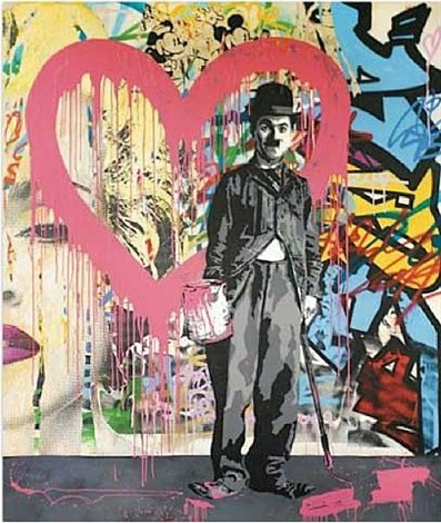 charlie chaplin by mr. brainwash