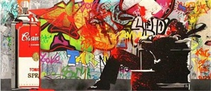 max spray by mr. brainwash