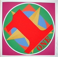 one by robert indiana
