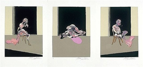 triptych 1972 by francis bacon