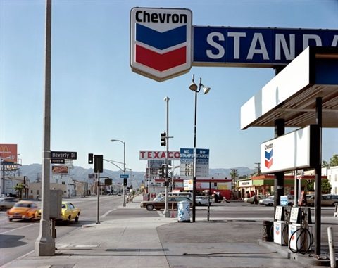 beverly boulevard los angeles california june 21 by stephen shore