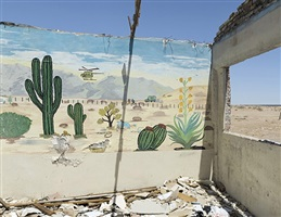 mural (with border fence) sonora by david taylor