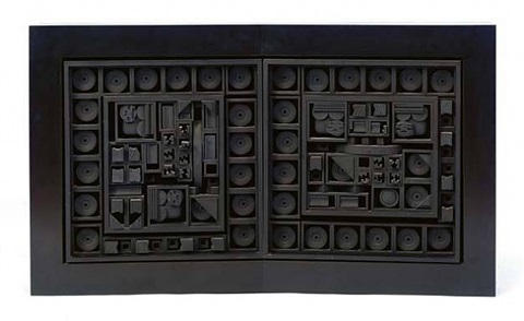 city - space - scape v by louise nevelson