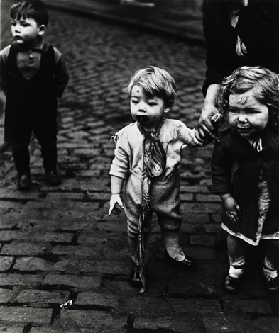 children in sheffield by bill brandt