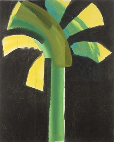 night palm by howard hodgkin