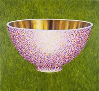 pink bowl by andrew james ward