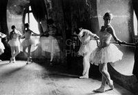 ballerinas at the grand opera by alfred eisenstaedt