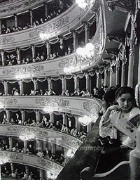 premiere at la scala by alfred eisenstaedt