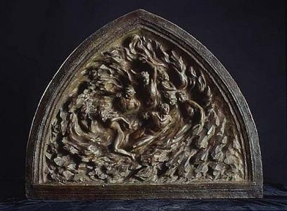 ex nihilo, maquette (the creation sculptures maquette suite) by frederick hart