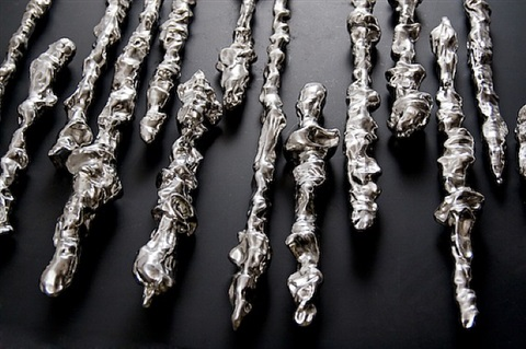 stainless wax by lynda benglis