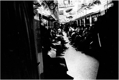 untitled (subway) by daido moriyama