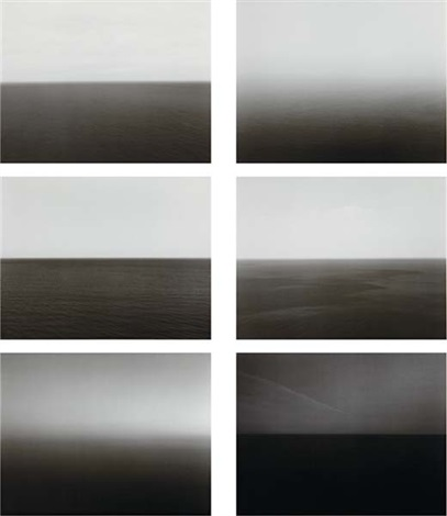 time exposed portfolio of 51 works by hiroshi sugimoto