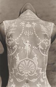 female bodysuit - detail, malibu by herb ritts