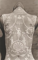 female bodysuit - detail, malibu by herb ritts