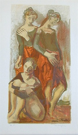 dancers by moses soyer