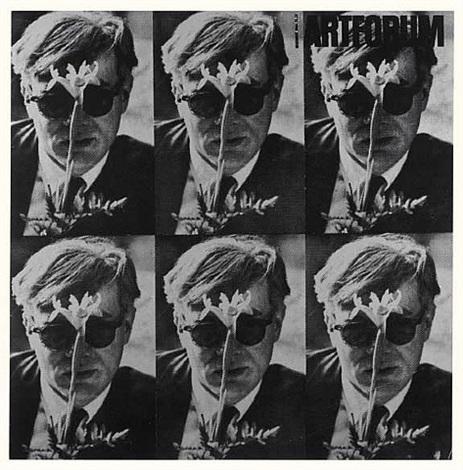 art forum 1964 (white) by dennis hopper