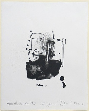 toothbrush iii by jim dine