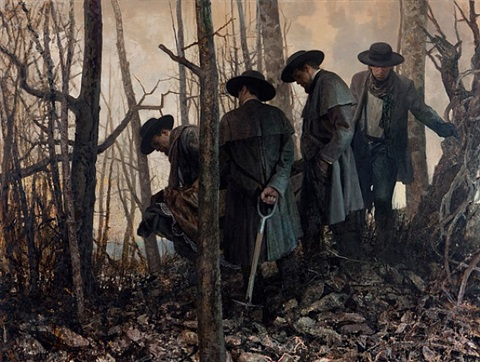 mourning and fecundity ii by vincent desiderio