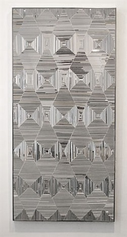 drawing with mirrors ii by monir shahroudy farmanfarmaian