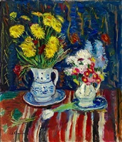 les deux bouquets by charles camoin